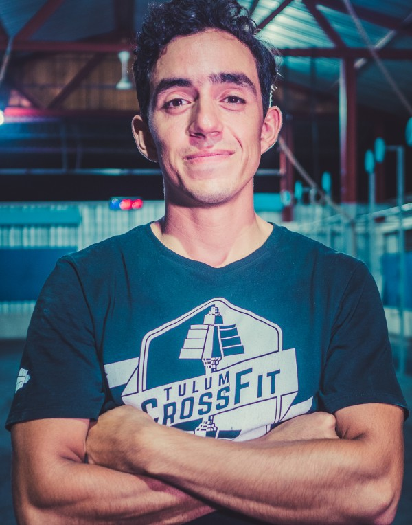 Alfonso, at Tulum Crossfit Gym