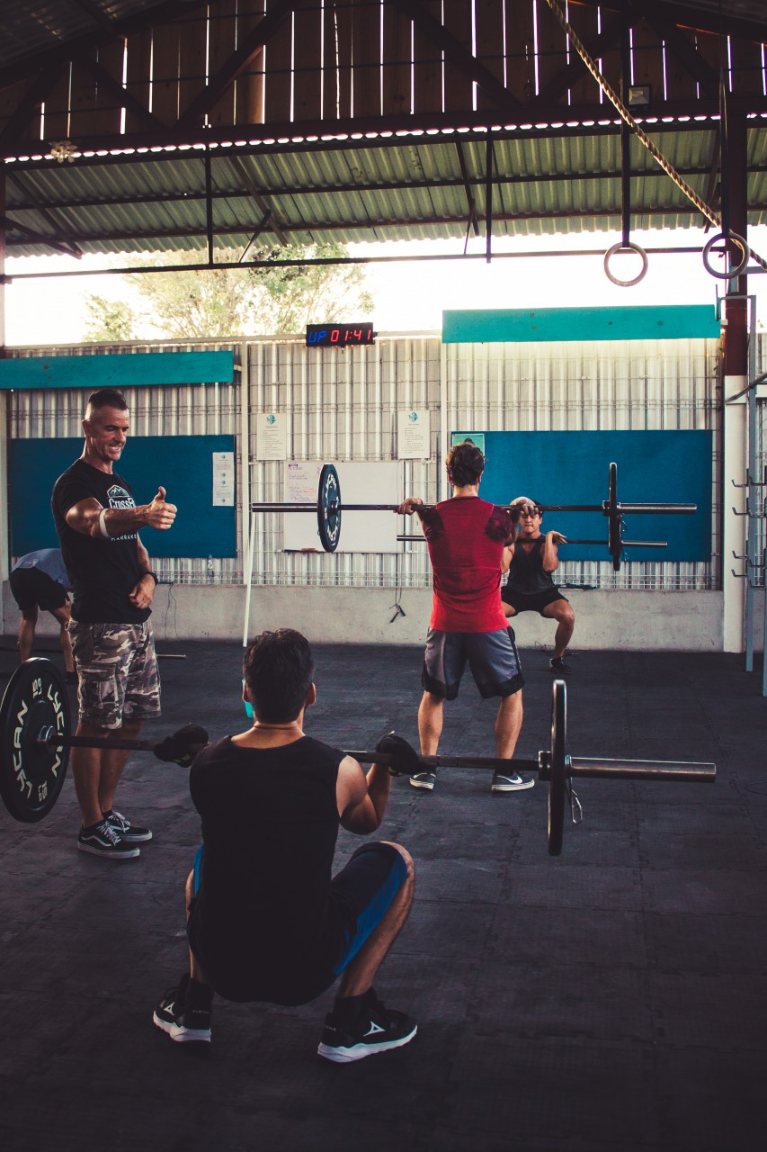 Workout at Tulum Crossfit Gym