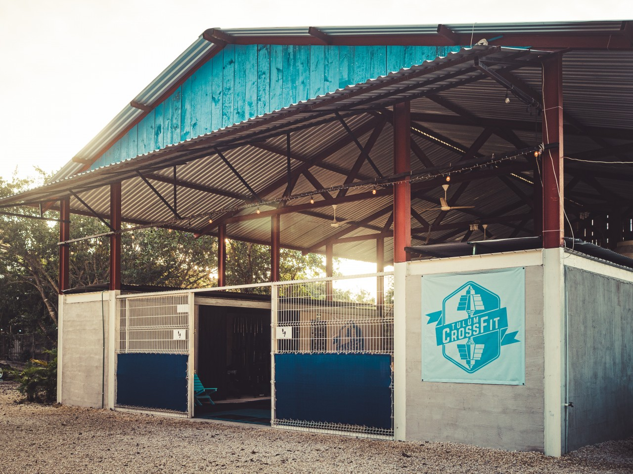 Tulum Gym entrance