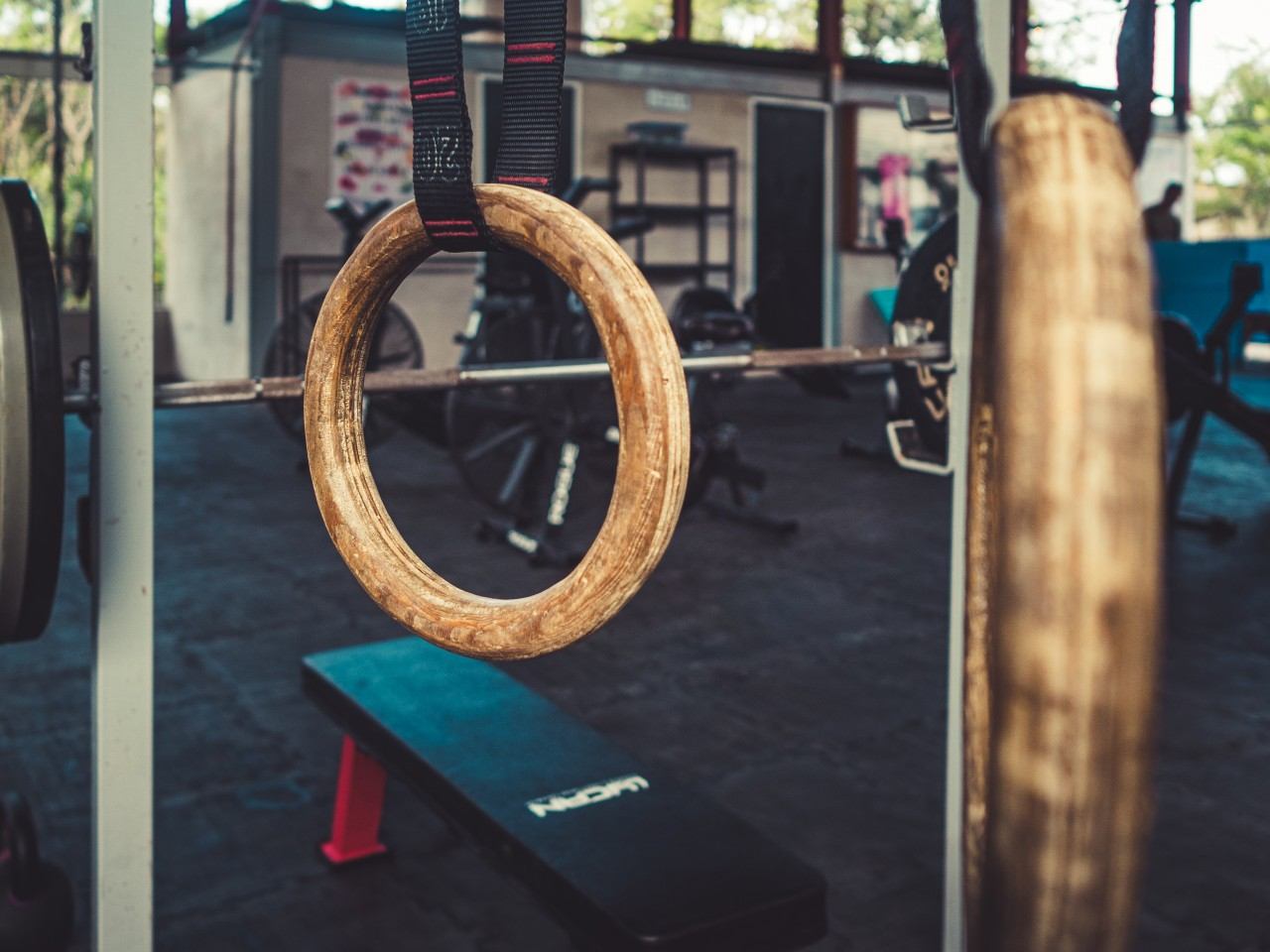 Rings in Tulum Crossfit Box