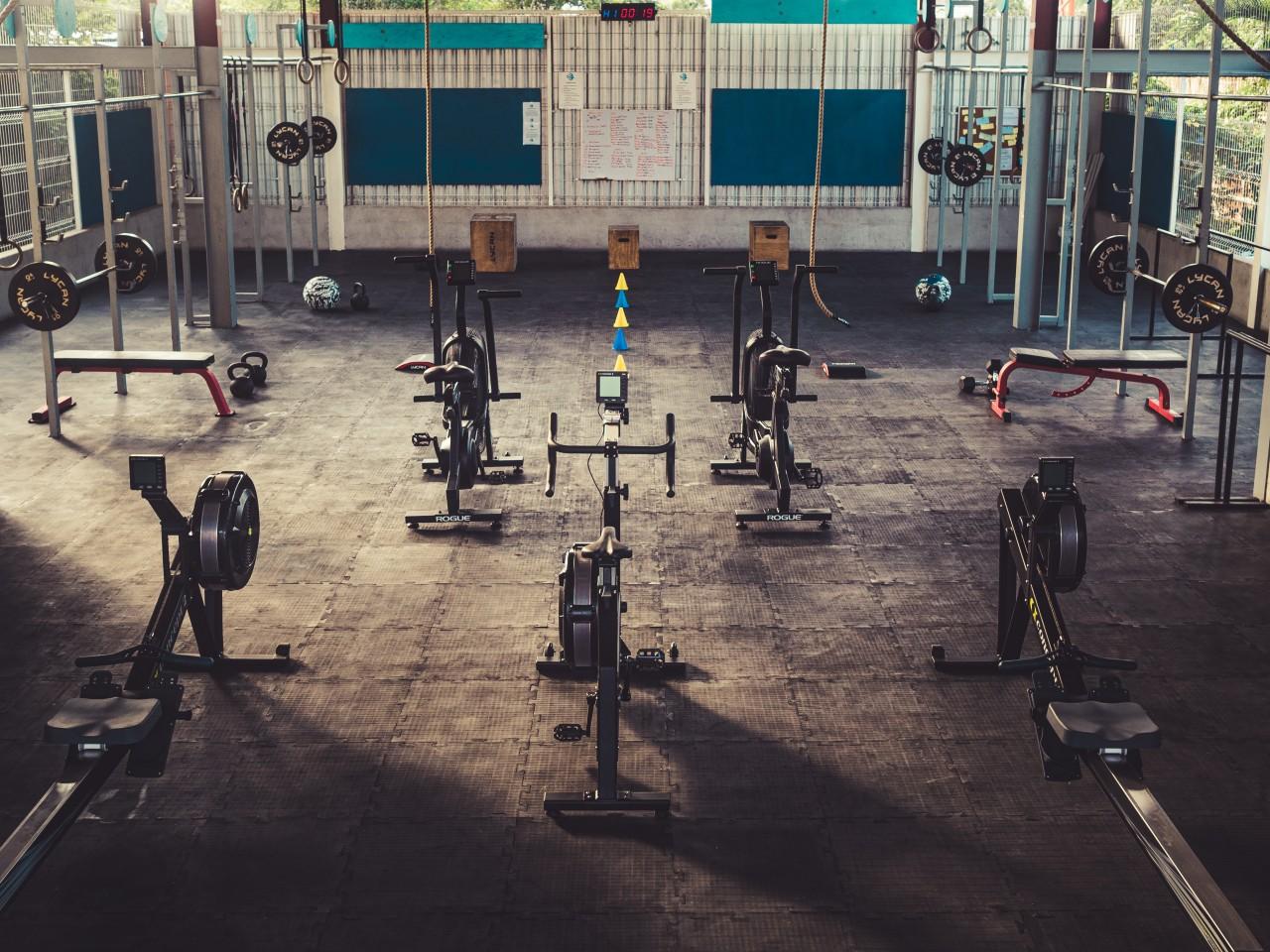 Gym facilities in Tulum